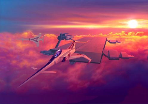 Cloudbase - Captain Scarlet by Harnois75