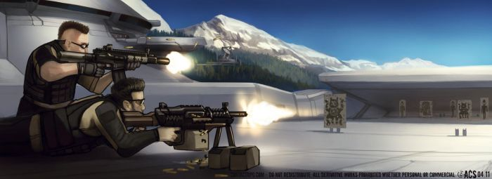 Contact - Firing Range by Shimmering-Sword