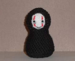 No Face Amigurumi Doll by Craftigurumi