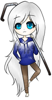 Drawing: Jacklyn Frost (no bg) by CelestiaLauren