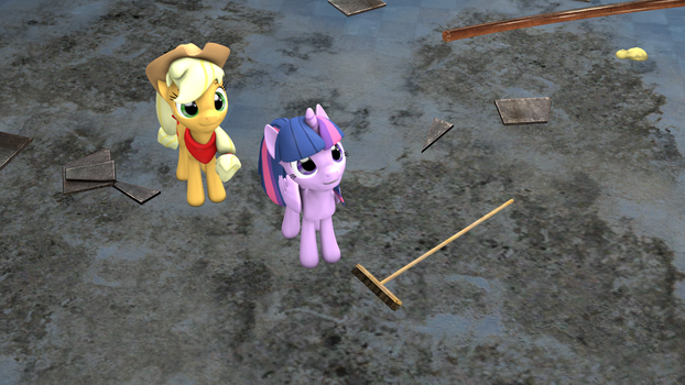 Sweeping can be fun too. by Raptor1701