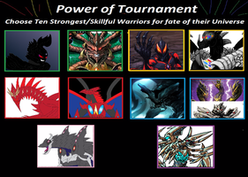 Tournament of Power 2 - The Avatars of Darkness by kahnac