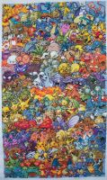 Pokemon Gen. 1 Cross Stitch 25