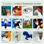 2014SummaryofArt by Tressah19