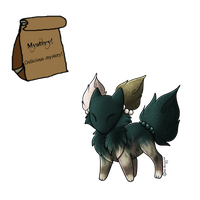 Grab Bag Adopt - crowned-crooked by Feralx1