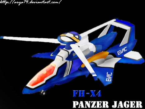 FH-X4 Panzer Jager by arya74