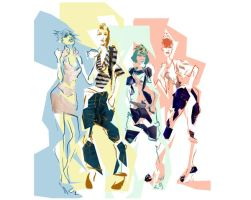 Fashion Illustration 8 by ComicMunky