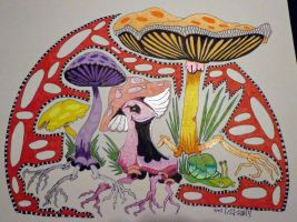 Magic Mushrooms ZIA by wiccanwitchiepoo