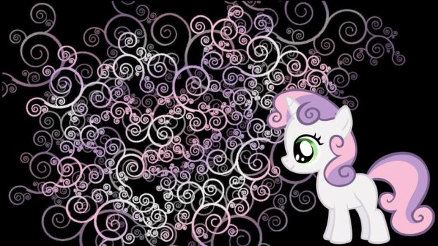 Sweetie Belle wallpaper by Coall