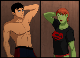 Young Justice - Morning After by SizzleShorts