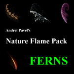 Nature flame pack- Ferns by AndreiPavel