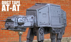 duck tape atat by metalish-guy