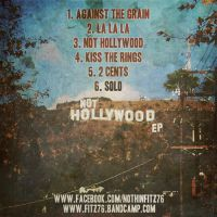 Not Hollywood EP Back Cover by smcveigh92