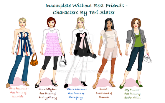 Incomplete Without Best Friend by wrshpgod07