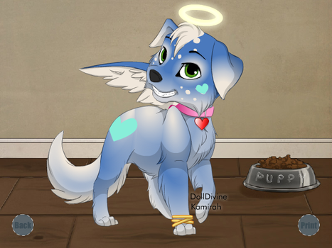 Snowflake the Angel-Puppy by Sonic-makes-me-smile