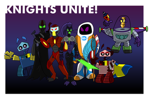 Knights Unite by CKToonStudios