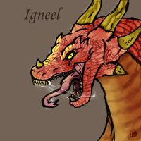 Igneel by greenyswolf