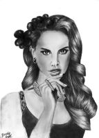 Lana Del Rey II by DeadlyAngel-Drawings