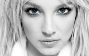 Britney Spears Blue Eyes by moguinho