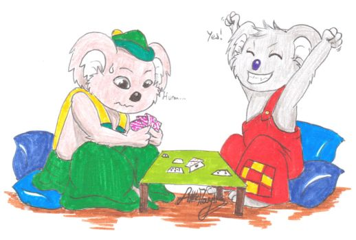 Cards - Blinky Bill and Koala Splodge (Request) by ALittleLady