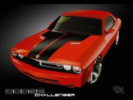 Dodge Challenger: Concept Car by phirewerkz