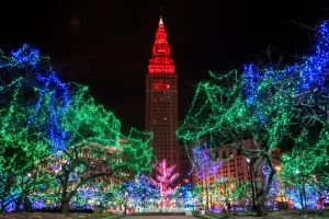 Downtown Holiday Lights by BStadler