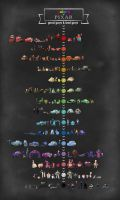 Colors Of Pixar by Ancozza