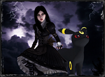 Alice and Umbreon by jagged66