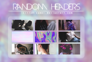 random headers. by iLittleDreamer