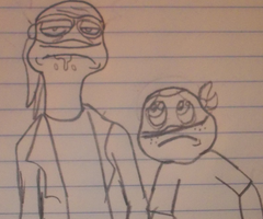 DON AND MIKEY (RICK AND MORTY CROSSOVER) by TMNTFAN85