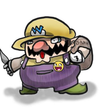 Wario's economy is bad by Marios-Tri4ce