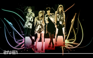 2NE1 Wallpaper Im The Best by GunaHaNeul