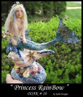 Princess RainBow Mermaid by KabiDesigns