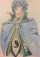 Jellal Fernandes fairy tail for CuzMyDogSaidSo by ChuckyAndy