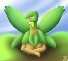 Tropius Anthro 2 by Latiar027