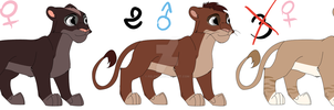 Lion Cub Adoptables -closed- by Felenir