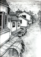 Illustration of Chinese Ext. by JRTribe