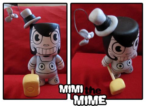 VOIDITE Mimi the Mime by bittermause