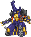 MetalKabuterimon Sprite by AmazonianFisherman