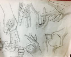 Old hand sketches found at my grandmas by ChuckyAndy