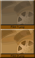 Film Texture or Background Zip by WDWParksGal-Stock