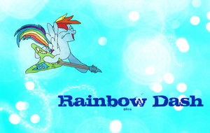 Rainbow Dash wallpaper by TheCrapRightArt