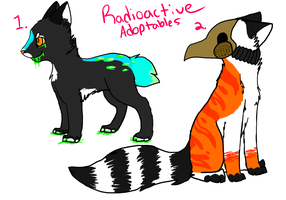 Radioactive Auction ::OPEN:: by finchfluff