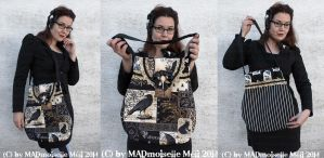 Nevermore Bag by MADmoiselleMeli
