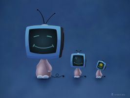TV Heads 2 by vladstudio