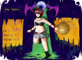 HM: Irina Teplova [Application Sheet 2014] by Zwei-tan