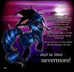 Shall Be Lifted - Nevermore by kippixin