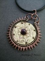 pendant with amethyst by nastya-iv83