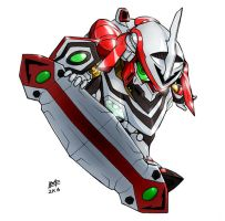 SD Nirvash Type 0 by Mintyrobo
