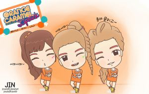 Orange Caramel Lipstick by jinsuke04